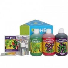 Комплект удобрений GHE Tripack Flora Series мягкая