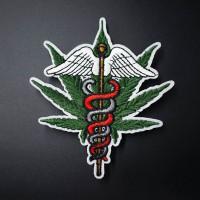 Термонашивка медицинская марихуана